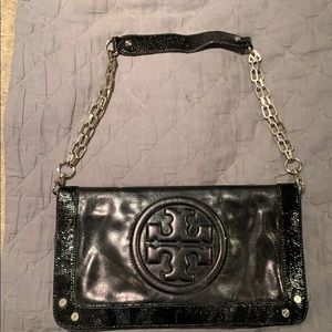 Tory Burch Reva Clutch - Black